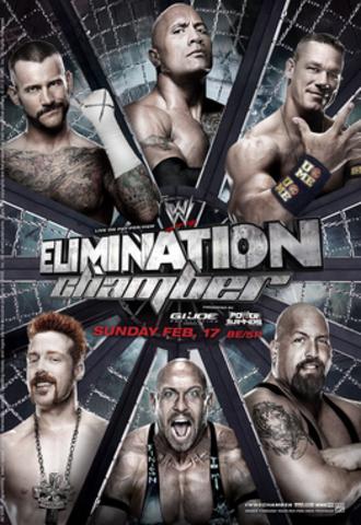 Elimination Chamber (2013) - Image: Eliminationchamber 2013poster