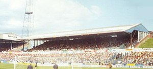 Elland Road - The old Lowfields Road stand.