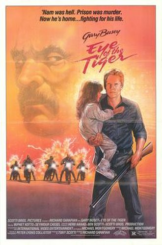 Eye of the Tiger (film) - Theatrical release poster