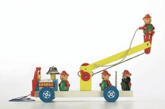 """Little People - """"Snorky the Fire Engine"""" 1960"""