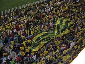 Malaysia FA Cup - Kedah supporters at the 2007 Piala FA final