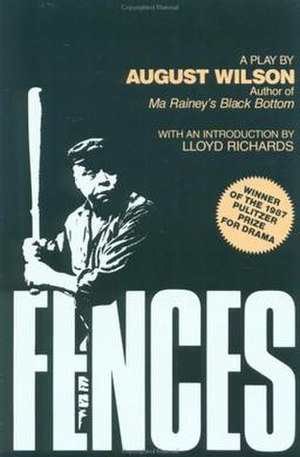 Fences (play) - Image: Fences (August Wilson play script cover)