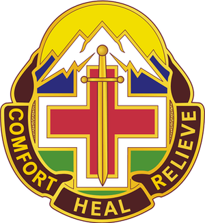 Fitzsimons Army Medical Center - Unit Crest