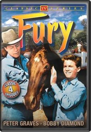 Fury (TV series) - Fury DVD cover