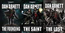 Gaunt's Ghosts covers.jpg