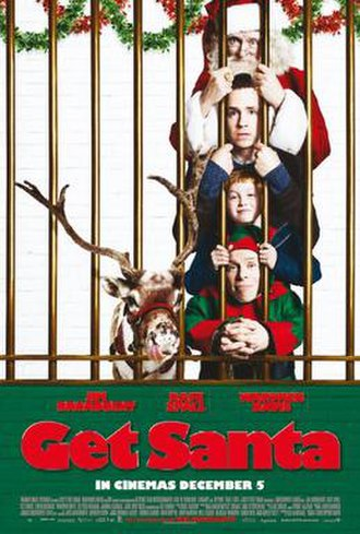 Get Santa - Theatrical release poster