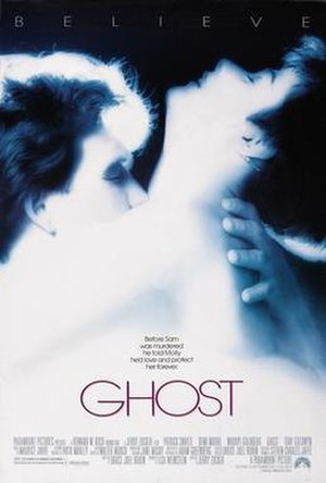 Ghost (1990 film) - Theatrical release poster
