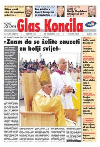 Glas Koncila - Image: Glas Koncila 2005 35