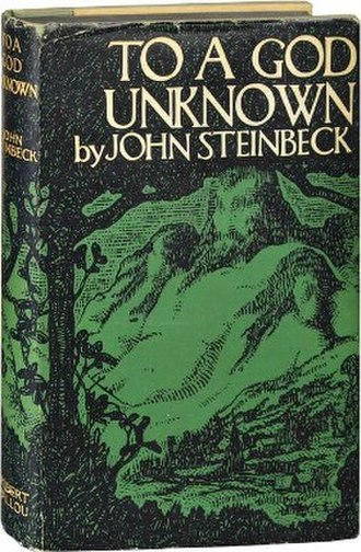 To a God Unknown - First edition