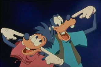 Goofy - Goofy (right) with his son Max (left) in A Goofy Movie (1995)