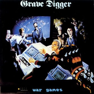 War Games (Grave Digger album) - Image: Grave Digger War Games