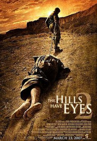The Hills Have Eyes 2 - Theatrical release poster