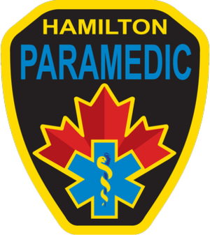 Hamilton Paramedic Service - Image: Hamilton Paramedic Service Crest