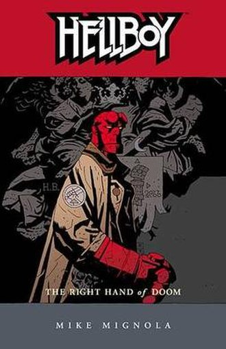 Hellboy: The Right Hand of Doom - Trade Paperback Cover