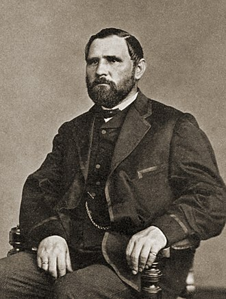 Illinois Staats-Zeitung - Anton C. Hesing, owner of the Staats-Zeitung from 1867 until his retirement in the 1880s.
