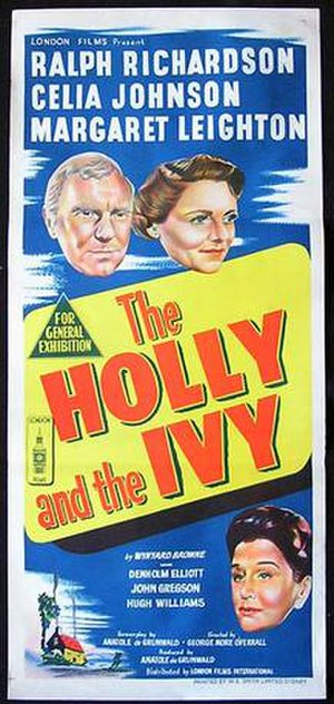 The Holly and the Ivy (film) - Original Australian film poster