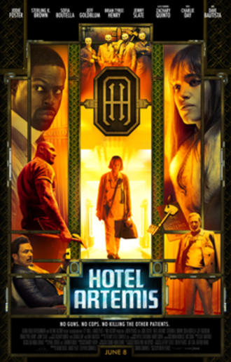 Hotel Artemis - Theatrical release poster