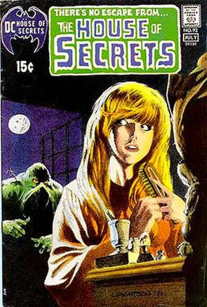 House of Secrets (DC Comics) - Image: House Of Secrets 92