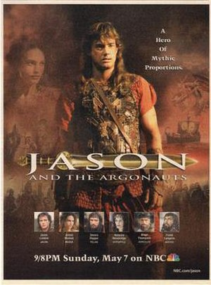 Jason and the Argonauts (miniseries) - Print promotional advertisement