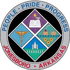 Official seal of Jonesboro, Arkansas
