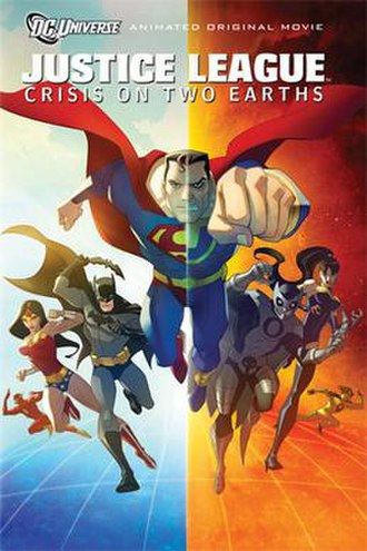 Justice League: Crisis on Two Earths - DVD cover art