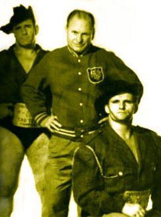 The Fabulous Kangaroos - Heffernan (right), Berry (center) and Costello (left)