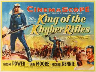 <i>King of the Khyber Rifles</i> (film) 1953 film by Henry King