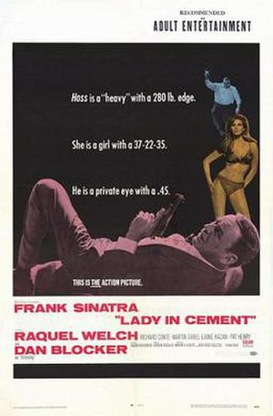 Lady in Cement - Promotional film poster