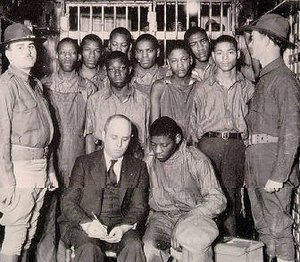 300px Leibowitz%2C Samuel %26 Scottsboro Boys 1932 Scottsboro Boys to Get Posthumous Pardons 80 Years After Falsely Convicted for Raping Two White Women