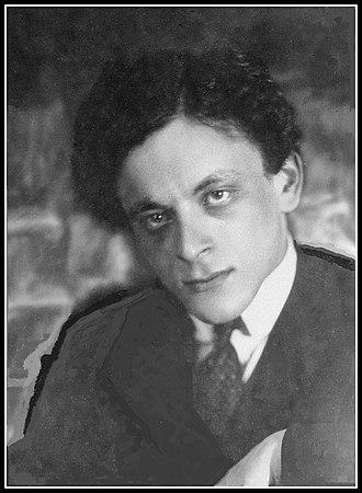 Lev Lunts - Image: Lev Lunts, 1921 1922