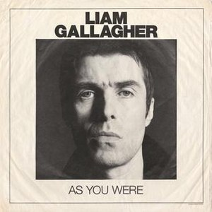 As You Were (Liam Gallagher album) - Image: Liam Gallagher As You Were