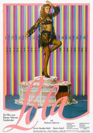 Lola (1981 film) - Theatrical release poster
