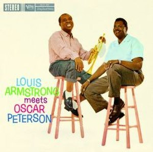 Louis Armstrong Meets Oscar Peterson - Image: Louis Armstrong Meets Oscar Peterson