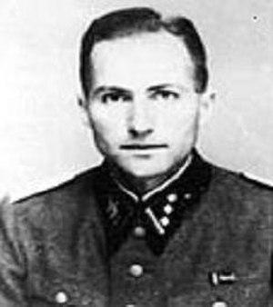 Ludwig Stumpfegger - Stumpfegger as a SS-Obersturmführer