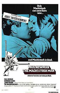 <i>The Mackintosh Man</i> 1973 spy thriller film by John Huston