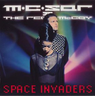 Another Night (Real McCoy album) - Image: MC Sar & The Real Mc Coy Space Invaders (album cover)