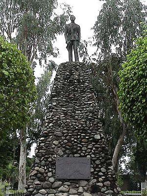 Ferdinand E. Marcos Presidential Center - A statue of Ferdinand Marcos erected in Batac, Ilocos Norte