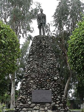 Batac - The President Ferdinand E. Marcos Monument at the Batac Mini Park