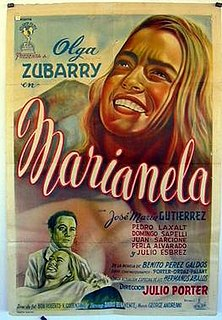 <i>Marianela</i> (1955 film) 1955 film by Julio Porter