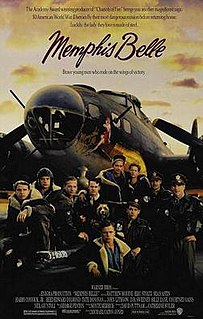 <i>Memphis Belle</i> (film) 1990 film by Michael Caton-Jones
