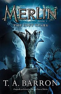 <i>Merlin Book 1: The Lost Years</i> book