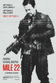 <i>Mile 22</i> 2018 film directed by Peter Berg