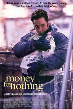 Money for Nothing (1993 film) - Theatrical film poster