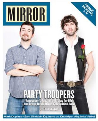 Montreal Mirror - Image: Montreal Mirror Cover