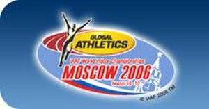 2006 IAAF World Indoor Championships - Image: Moscow 2006 logo