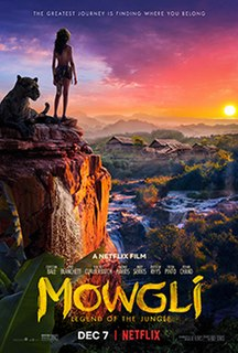 <i>Mowgli: Legend of the Jungle</i> 2018 film directed by Andy Serkis