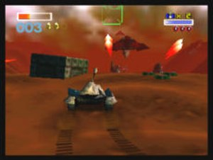 Star Fox 64 - The Landmaster in-game