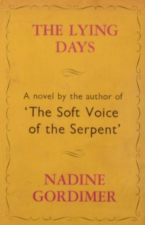 The Lying Days - Cover of first UK edition