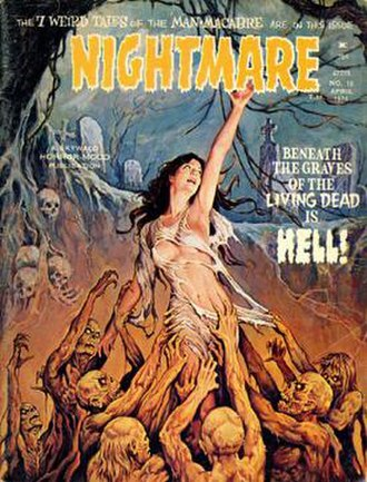 Skywald Publications - Image: Nightmare 18