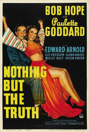 Nothing but the Truth (1941 film) - Theatrical release poster